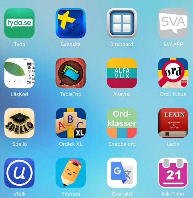 Här kommer min lista över 50 appar för både yngre och äldre nyanlända barn och ungdomar. I listan finns både appar som är gratis och appar som kostar pengar. Eftersom priset varierar och appar ibla…