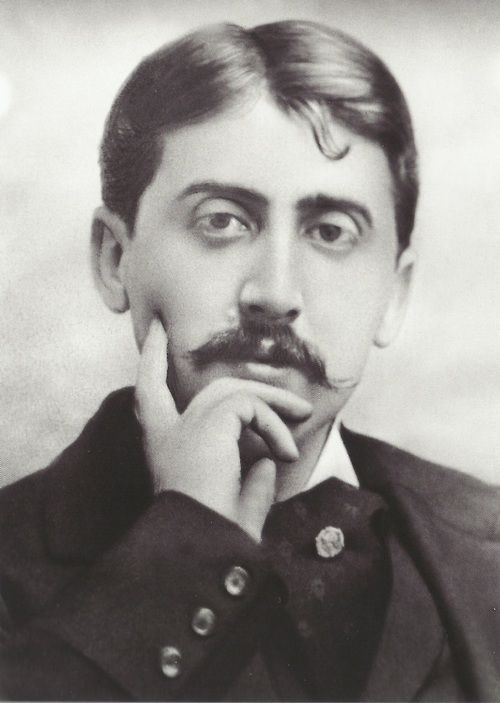 Marcel Proust, 1919, collection Martinie