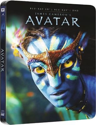 #Avatar 3d blu-ray & dvd steelbook - #exclusive uk #zavvi 2 disc set - new sealed,  View more on the LINK: http://www.zeppy.io/product/gb/2/182314918465/
