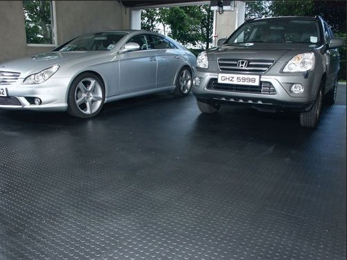 Elegant Covering Garage With Rubber Flooring Mats | Floor Mats | Pinterest | Garage  Floor Mats, Rubber Flooring And Car Garage