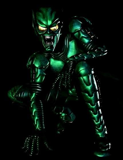 No, he's not Irish. Green Goblin.