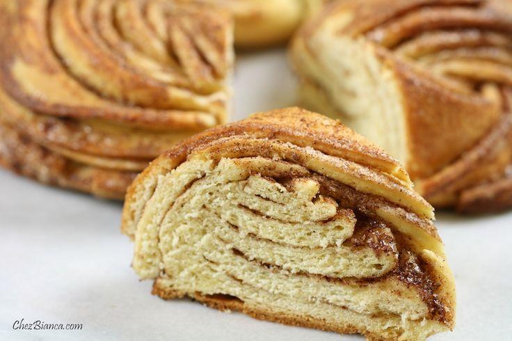 Pão doce com canela