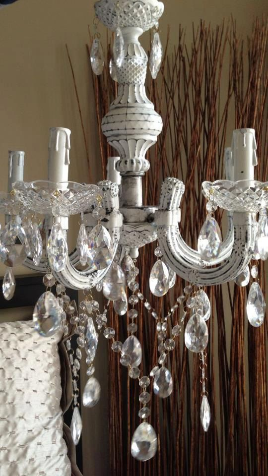 43 Best Shabby Chic Chandeliers Images On Pinterest