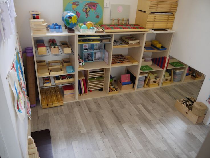 La Semaine Montessori - rangement
