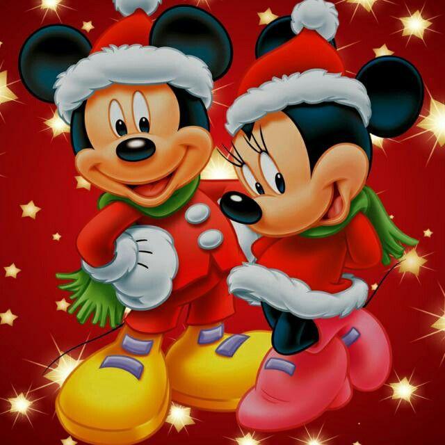Feliz navidad | flores en 2019 | Disney Christmas, Minnie ...