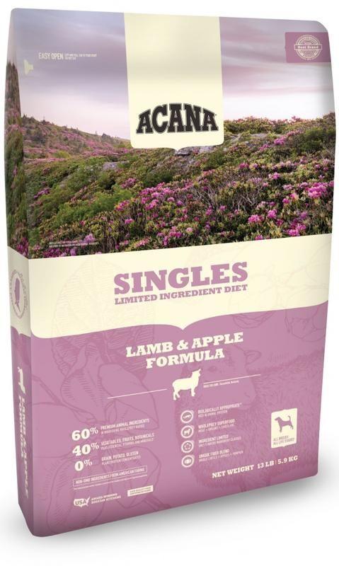 Acana Singles Limited Ingredient Diet Lamb And Apple Formula Grain