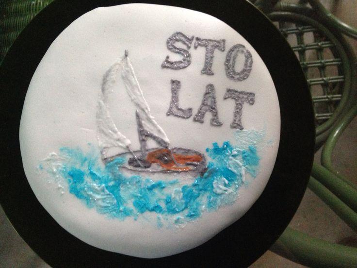 Birthday sailing cake!