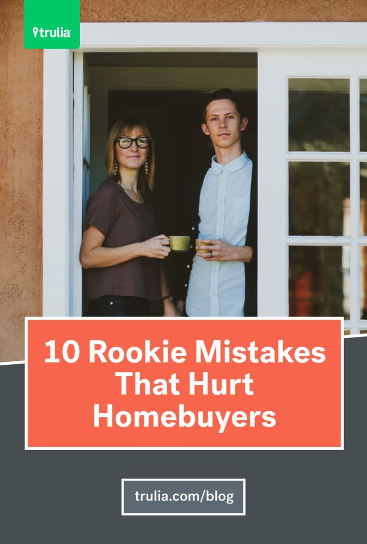 Don't be a newbie: Avoid these common mistakes when buying your first home.