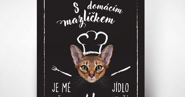 """Plakát """"O chlup lepší""""- varianta kočka. Máte doma chlupatého mazlíčka? Tyto vtipné plakáty pro majitele pejsků popisují situaci, kterou asi důvěrně znáte: """"S domácím mazlíčkem je mé jídlo vždy O CHLUP lepší."""" Proč to nebrat s humorem a nevarovat případnou návštěvu předem.  ♥ Vhodné jako originální dárek. ♥ Pokud zatoužíte mít tento plakát doma, napište mi zprávu :) ♥ Tištěno na matný plakátový papír. ♥ Dodáváno v tubusu, bez rámečku. ♥ 240,-Kč/ks + poštovné."""