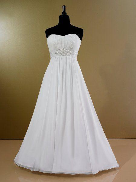 92 best plus size wedding dresses images on pinterest for Wedding dresses by body shape