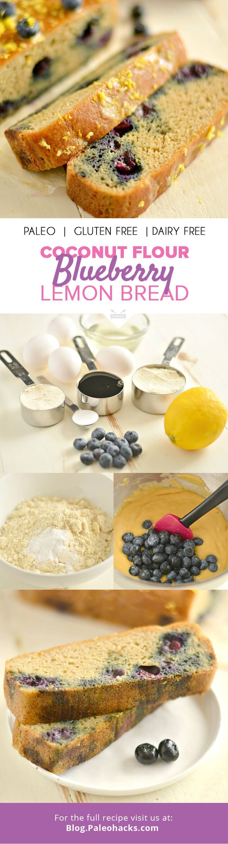 Grab your blueberries—you are about to bake the best Paleo Blueberry Lemon Bre... *** (This is Amazon Affiliate Link) For more information, visit image link.