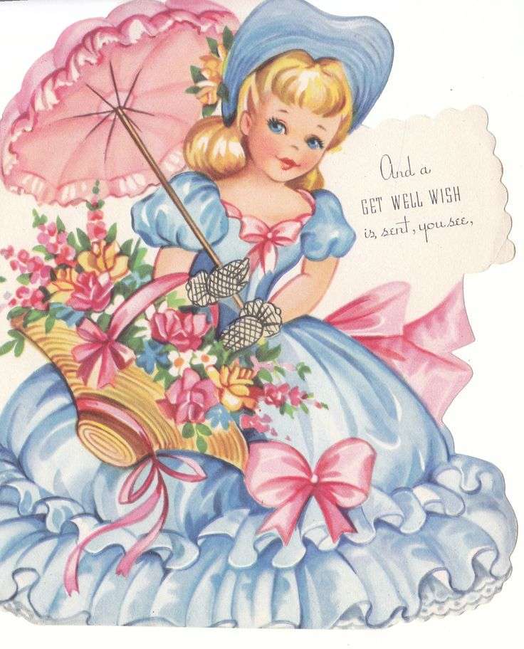 Images Of Vintage Girls First Birthday Card: 503 Best Doll Cards Images On Pinterest