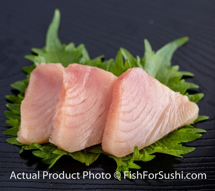 Product Description Each Fish For Sushi albacore tuna order weighs roughly 1 pounds. (Actual weight per order will fluctuate seasonally). Albacore Tuna (ビン長鮪) Enjoy the mild, buttery flavor of Fish Fo
