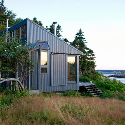 Coastal Decor, Beach, Nautical Decor, DIY Decorating, Crafts, Shopping   Completely Coastal Blog: Tiny House Love -13 Small Coastal Cottages by the Sea