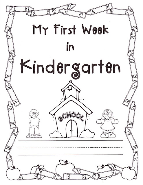 Teacher Bits and Bobs: first week of kindergarten great beginning & end of the year comparison
