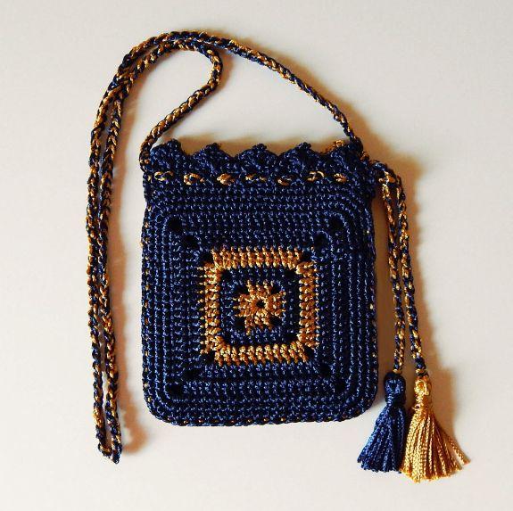 Crochet bag + Diagram