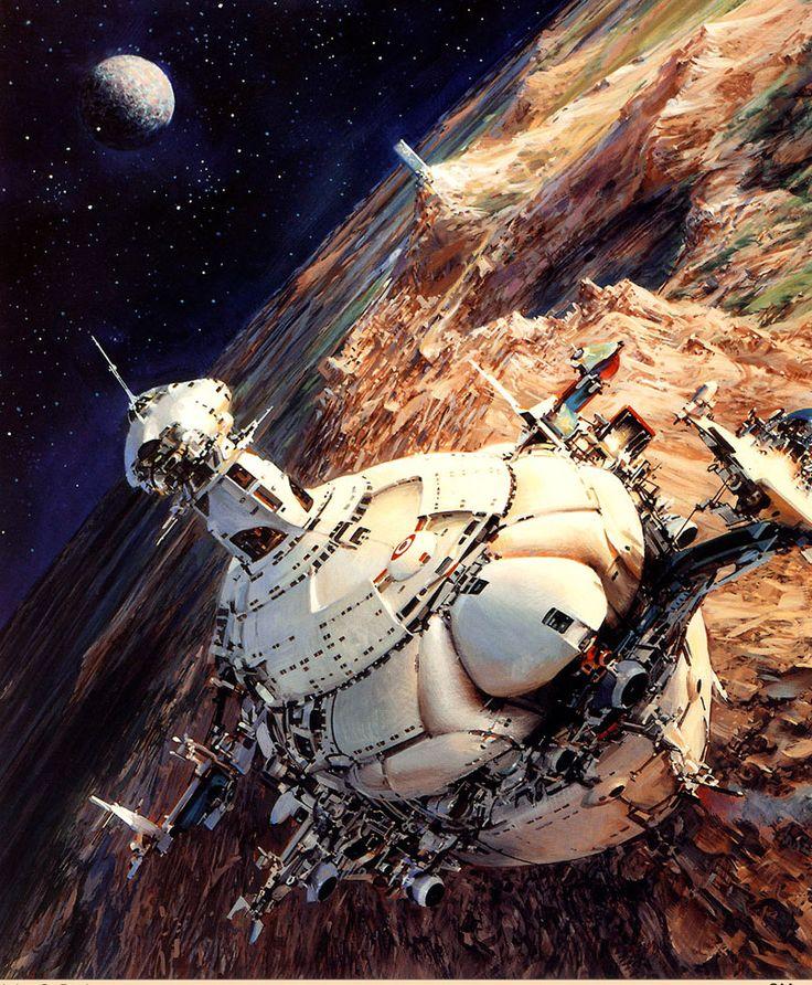 Sci-Fi Art By John Berkey