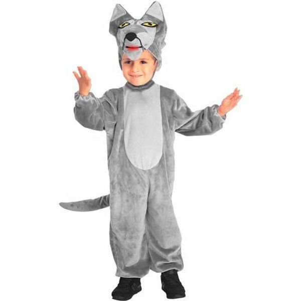 Our kid's toddler wolf outfit is an unique animal costume for Halloween. This cute wolf costume makes a great addition to any family themed costume idea for Little Red Riding Hood. - Costume can also