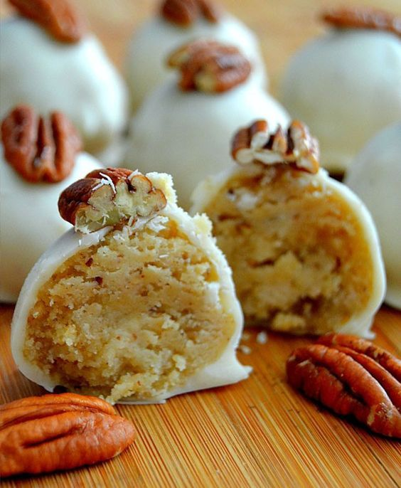 Whip up a batch of Pecan Pie Truffles for dessert with this easy bite-sized…