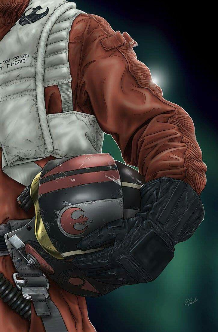 Helmet Series: Poe Dameron by Scott Zambelli