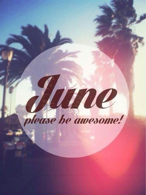 Bienvenido Junio!
