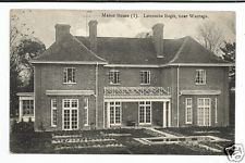 FDA Early Postcard, Manor House, Letcombe Regis, Berks/Oxon