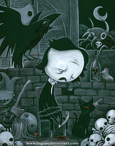 Edgar Allan Poe - Imps and Monsters Justin Hillgrove
