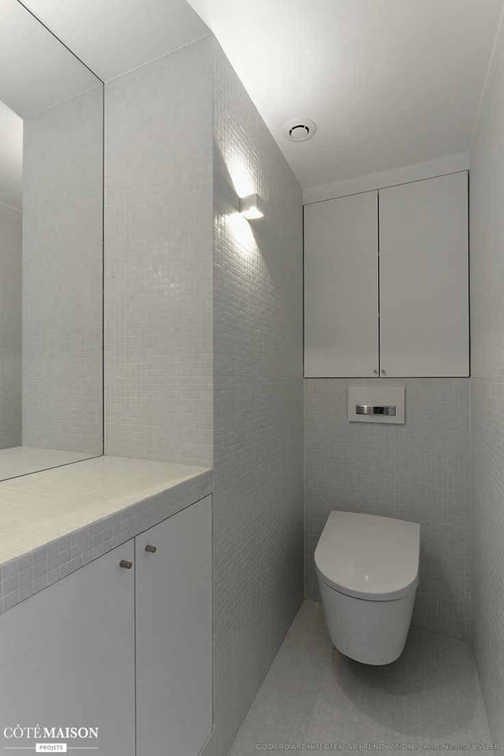 Toilettes blanches sans fioritures toilette wc styl s pinterest - Idees deco wc photos ...