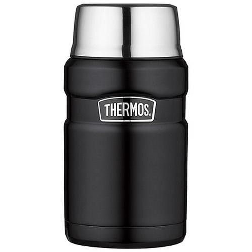 Thermos Stainless Steel King Food Jar - Black - 24 oz