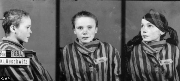 The photographer at Auschwitz: Man forced to take chilling images of inmates and their Nazi guards was haunted until his death at 94 - Wilhelm Brasse took some 40,000-50,000 photographs inside Aushwitz for the Nazis including these shots of Czeslawa Kwoka after she was beaten by a guard. Mr Brasse hid the negatives which were used to convict the very Nazis who commissioned them.