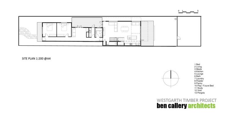 Westgarth Timber House plans 2