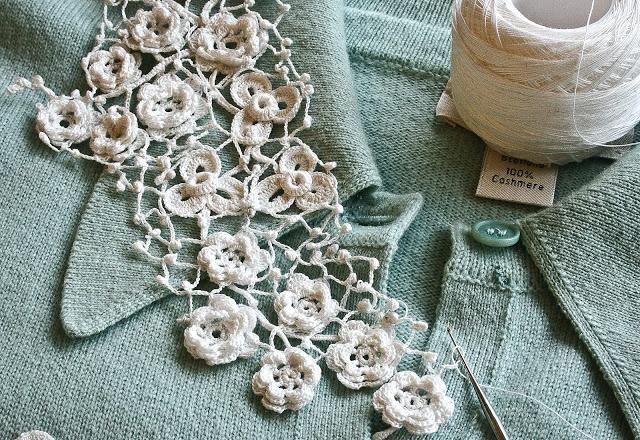 Clones Crochet Lace - Cornelia Griffin; crocheter, knitter, shop owner ~ Fiber Art Almanac