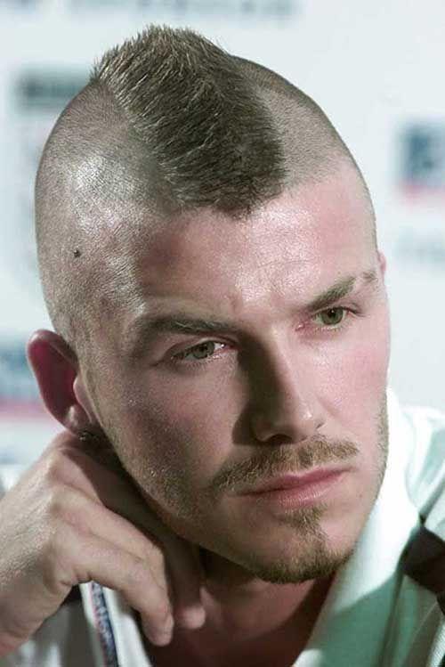 david beckham mohawk hairstyles