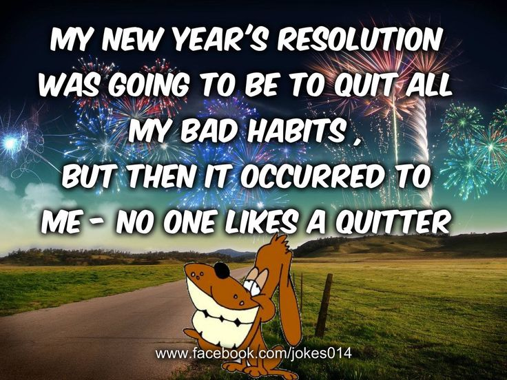 17 Best Funny New Year Quotes On Pinterest