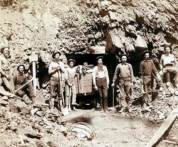 Image result for gold mining in the 1700s