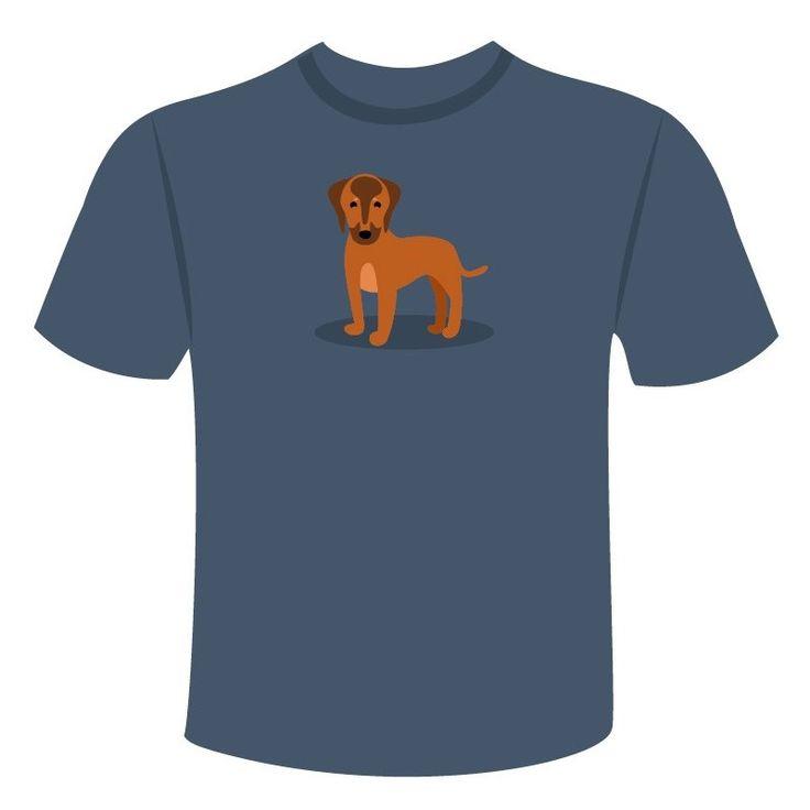 Compra la camiseta de tu perro Crestado Rodesiano con el diseño más original. Elige entre varios colores y tallas. ¡Lleva tu perro siempre contigo!