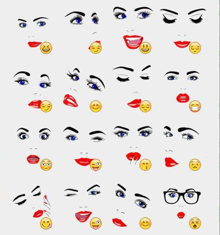 Girl Face Stickers Set - Consigue y descarga increíbles y fantásticos stickers gratis para la aplicación Telegram de tu móvil o celular - https://stickers.acidodivertido.com