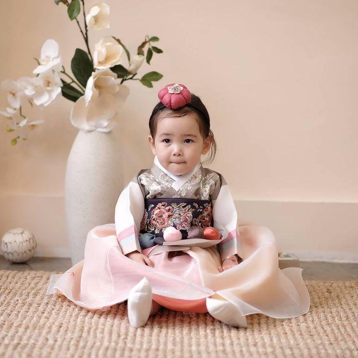 Korean national dress Hanbok 한복