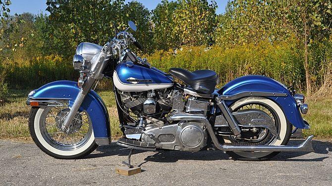 1972 Harley-Davidson FLH Shovelhead   Me Auctions   Harley ...