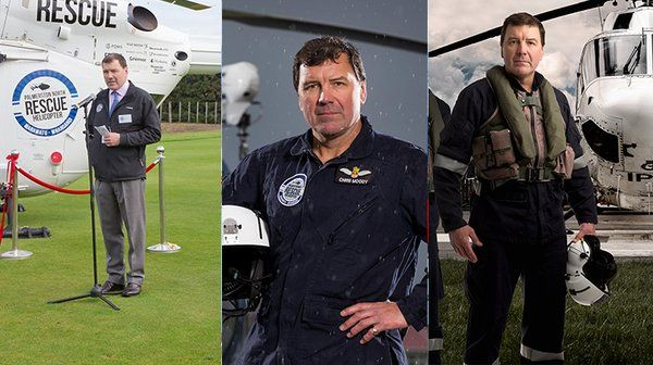 Pilot Chris Moody....Palmerston North's resident James Bond, or at least that's what we think.