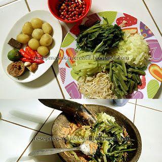 Resep Lotek | Resep Masakan Indonesia (Indonesian Food Recipe)