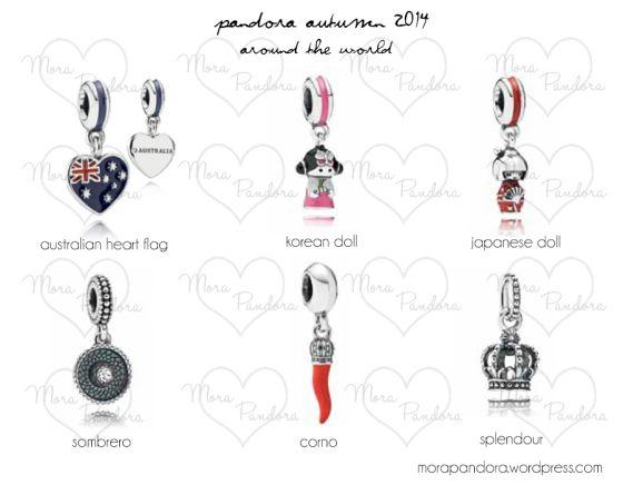 Pandora Autumn 2014 - Around the World | www.goldcasters.com