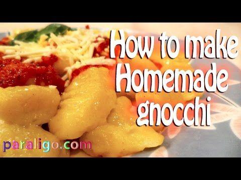 Homemade gnocchi   Paraligo.com