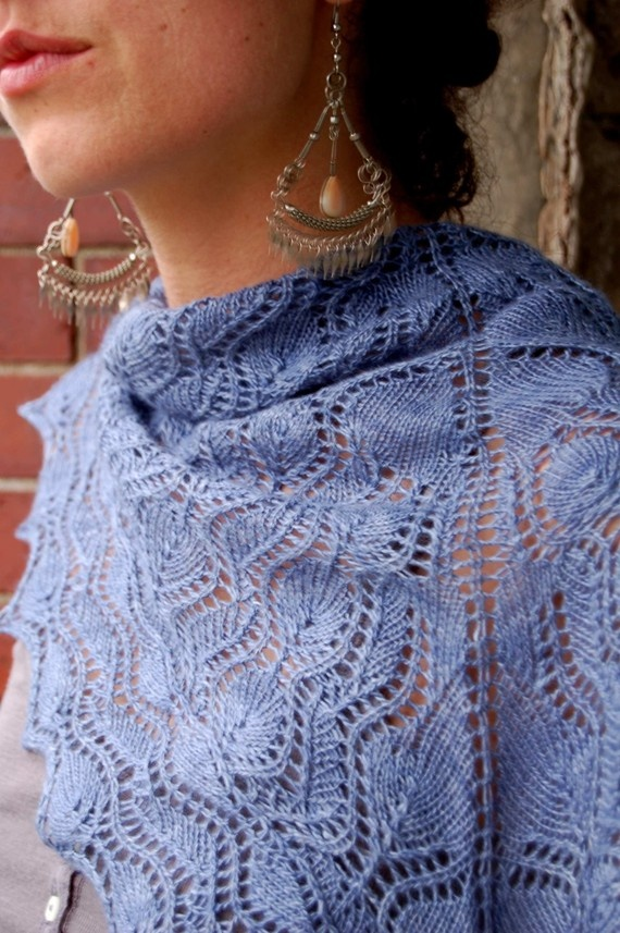 Christchurch Lace Shawl PDF Knitting Pattern