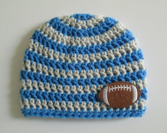 Detroit Lions Baby Beanie by Sadie's Cottage