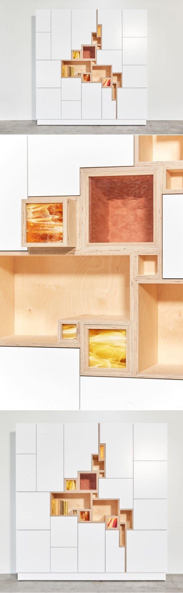 Rupture: A Wall Cabinet by Filip Janssens - Design Milk