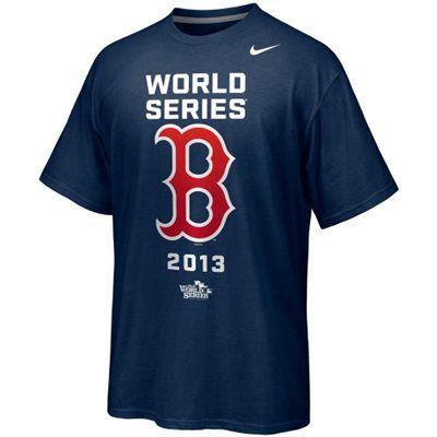 Nike Boston Red Sox 2013 MLB World Series Bound Participant Legend T-Shirt - Navy Blue