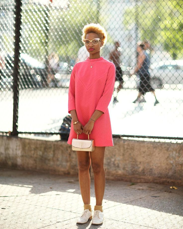 new york street style, nima ford