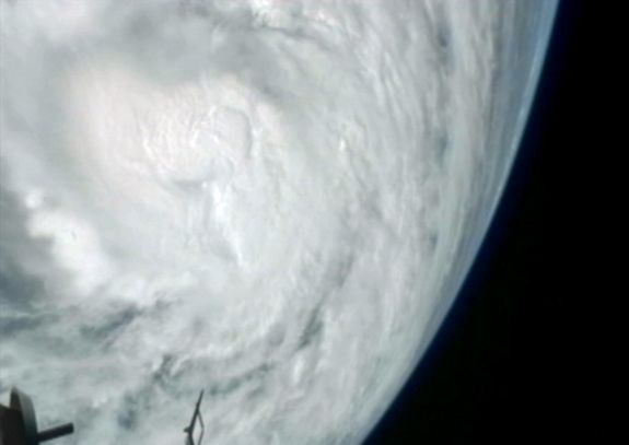 Superstorm Sandy from the Space Station. See more images at: http://www.space.com/18236-frankenstorm-hurricane-sandy-satellite-photos.html