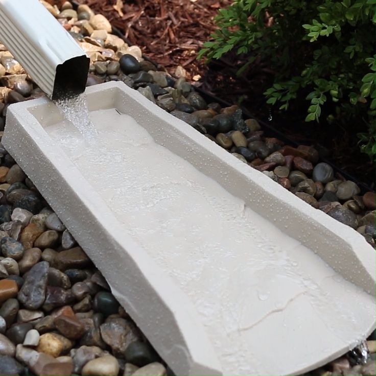 Amerimax 2 Pack Decorative Downspout Natural Stone Texture